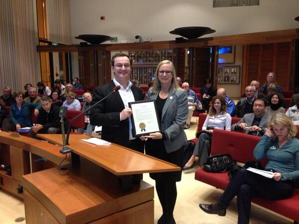 accepting open data proclamation - reichental and mayor feb 3 2014