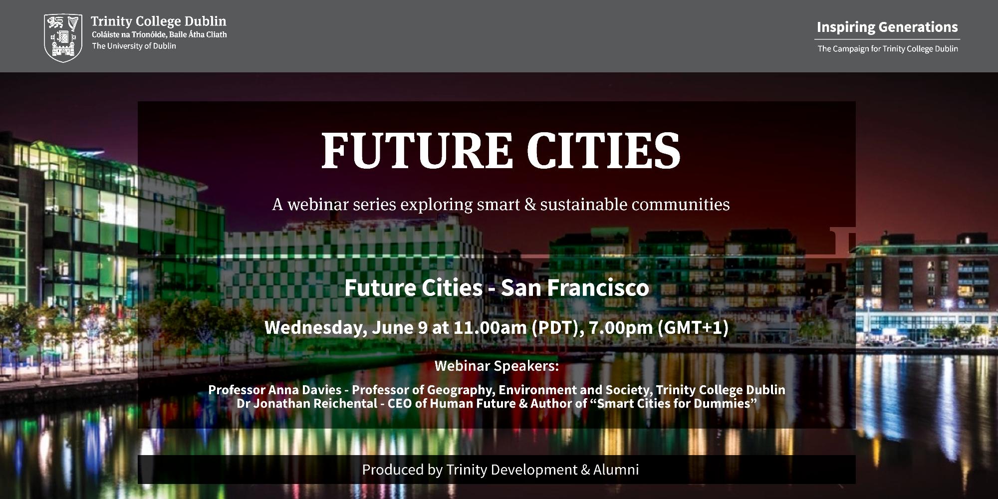 Future Cities – Trinity College Dublin